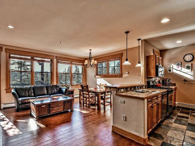 The fractional ownership opportunity at 105 River Course Rd. in Keystone is very luxurious.